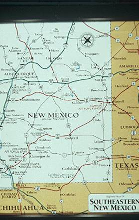 30/30: Map showing Clovis location in Eastern NM