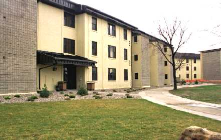 35/54: Enlisted Dorm at Malmstrom AFB