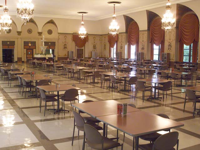 3/14: The Hart-Dole-Inouye Federal Center Cafeteria dining area.
