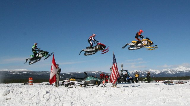 3/5:  Snowmobile Fly-Over