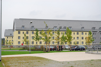 12/35: An example of the Barracks on the Grafenwoehr installation.