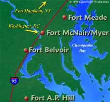 Maps of Ft Meade