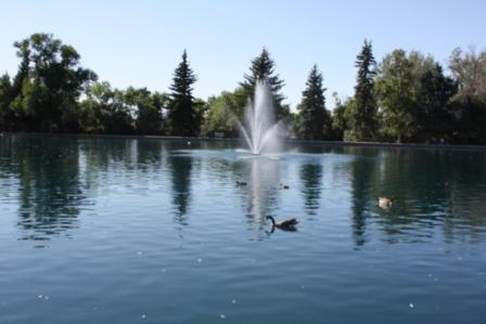 28/54:  Gibson Park, a local city park in Great Falls, MT