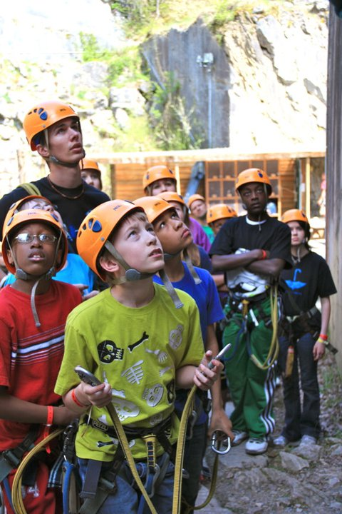 27/35: Ropes course